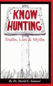 Cover of: Know Hunting