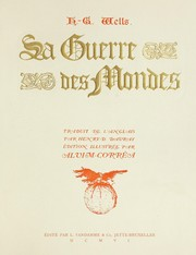 Cover of: La guerre des mondes | H. G. Wells