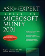 Cover of: Ask the expert guide to Microsoft Money 2001