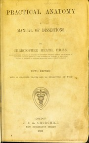 Cover of: Practical anatomy