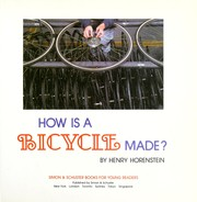 Cover of: How is a bicycle made?