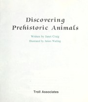 Cover of: Discovering Prehistoric Animals (Learn-About Books)