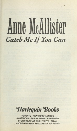 Catch Me If You Can (Presents Plus) by Anne McAllister