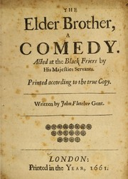 Cover of: The elder brother