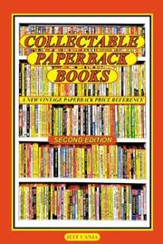 Cover of: Collectable paperback books