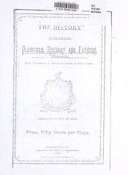 Cover of: The history of the towns of Plainfield, Roxbury and Fayston, Vermont