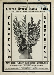 Cover of: Special offer of Clovena hybrid gladioli in eight classes of ground colors and grand mixture | Clovena Nurseries