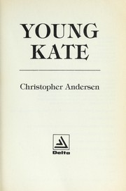 Cover of: YOUNG KATE (Delta Book)