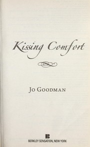 Cover of: Kissing Comfort