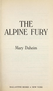 Cover of: The alpine fury