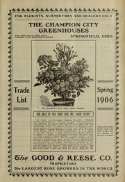 Cover of: The Champion City Greenhouses | Champion City Greenhouses (Springfield, Ohio)