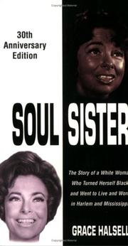 Soul sister by Grace Halsell