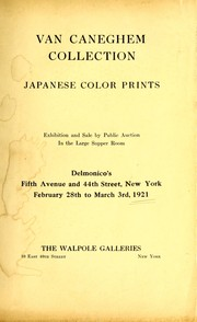 Cover of: Rare and valuable Japanese color prints