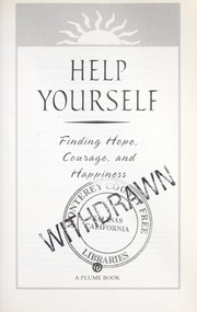 Cover of: Help yourself | David J. Pelzer