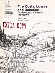 Cover of: Fire costs, losses, and benefits