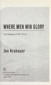 Cover of: Where men win glory