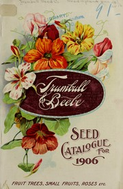 Trumbull & Beebe Spring catalogue of seeds, trees and plants by Trumbull & Beebe