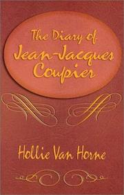 Cover of: The diary of Jean-Jacques Coupier