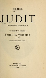 Cover of: Judit