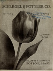 Cover of: Bulbs, plants | Schlegel & Fottler Co