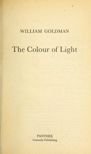 Cover of: Colour of Light