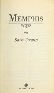 Cover of: Memphis | Sara Orwig