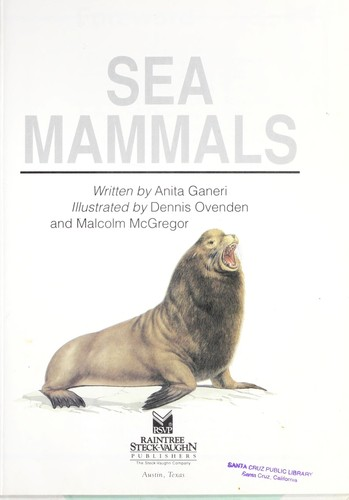 Sea mammals by Anita Ganeri