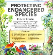 Cover of: Protecting Endangered Species | F. Brooks