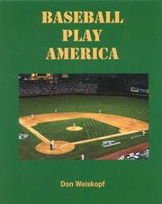 Cover of: Baseball play America