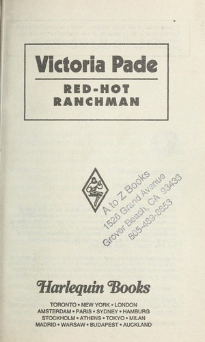 Red Hot Ranchman  (More Than Men) by Victoria Pade