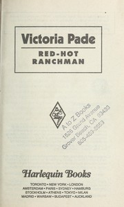 Cover of: Red Hot Ranchman  (More Than Men) | Victoria Pade