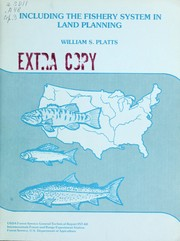 Cover of: Including the fishery system in land planning