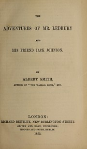 Cover of: The adventures of Mr. Ledbury and his friend Jack Johnson