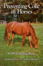 Cover of: Preventing colic in horses