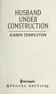 Cover of: Husband Under Construction