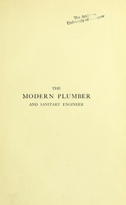 Cover of: The modern plumber and sanitary engineer