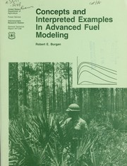 Cover of: Concepts and interpreted examples in advanced fuel modeling