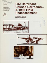 Cover of: Fire retardant-caused corrosion | C. W. George