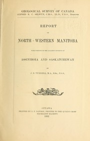 Cover of: Report on north-western Manitoba