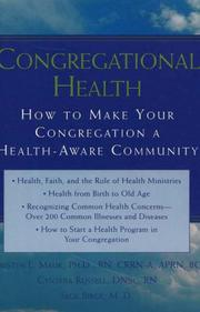 Cover of: Congregational Health | Kristin L., Ph.D. Easton