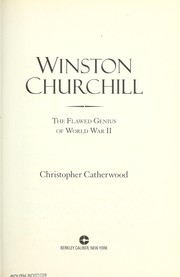 Cover of: Winston Churchill: the flawed genius of WWII