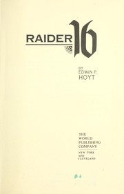 Cover of: Raider 16