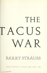 Cover of: The Spartacus war | Barry S. Strauss