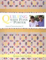 Cover of: Quilting with Fons & Porter by Marianne Fons