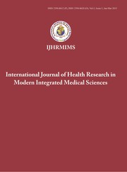 Cover of: International Journal of Health Research in Modern Integrated Medical Sciences |