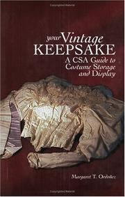 Cover of: Your Vintage Keepsake | Margaret T. Ordonez