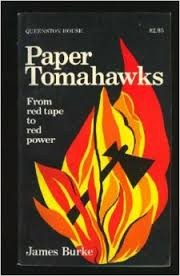 Cover of: Paper tomahawks | Burke, James