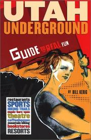 Cover of: Utah underground