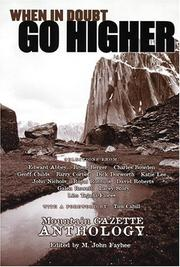 Cover of: When in Doubt, Go Higher