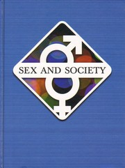 Cover of: Sex and society. |